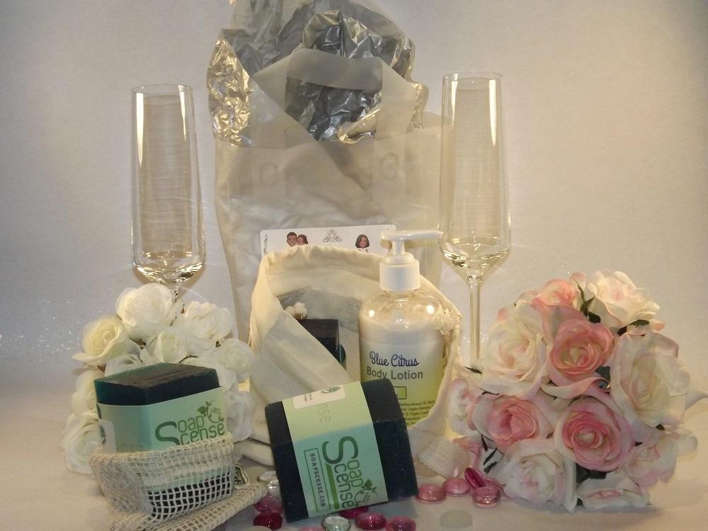 SoapScense wedding Bride basket