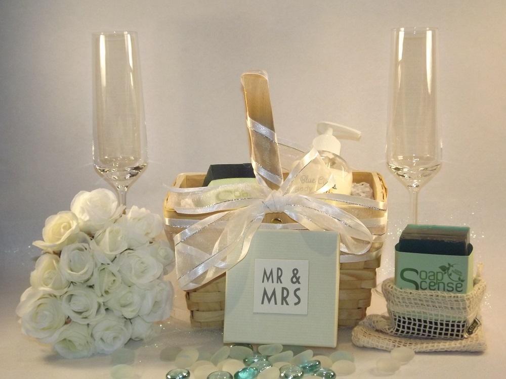 SoapScense wedding bridesmaid gift basket