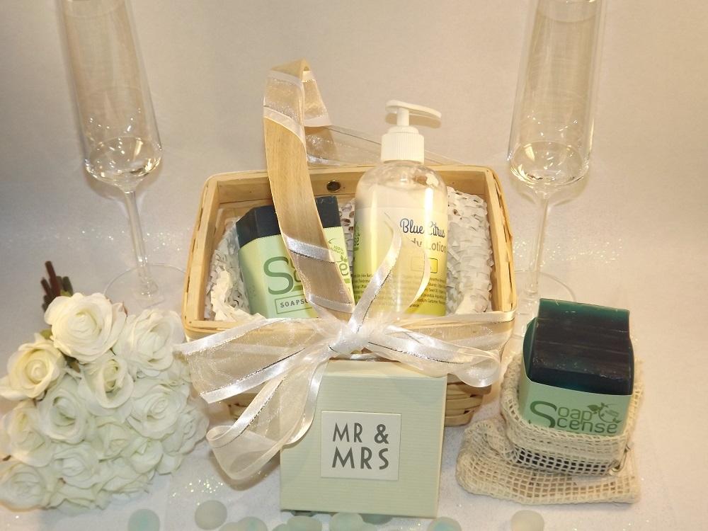 SoapScense wedding basket
